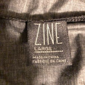 Zine windbreaker